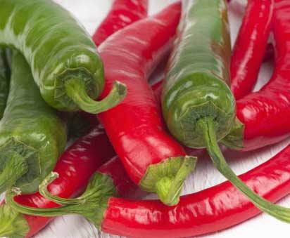 evite el picante si tiene gastritis