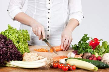 El cambio a una dieta vegetariana