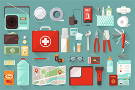 Artículos de Emergencia en caso de Terremoto